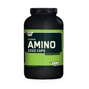 Optimum Nutrition,  Superior Amino 2222 Caps 300 Capsules