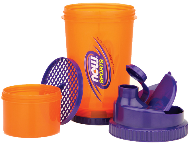 Now Foods,  Sports,  3-in-1 Shaker Bottle,  25 oz