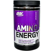 Optimum Nutrition,  Essential AmiN.O. Energy,  Concord Grape,  270g